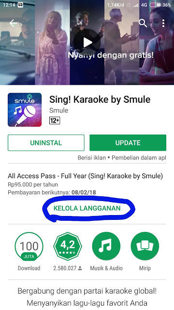 Sing smule playstore