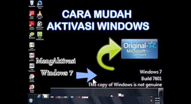 Cara Aktivasi Windows 7