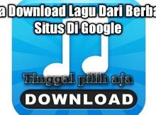 Cara Download Lagu di Laptop